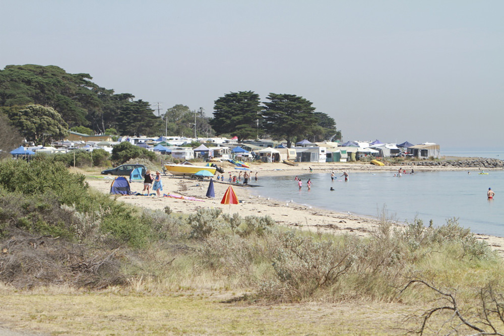 Indented_Head_beach_and_vans