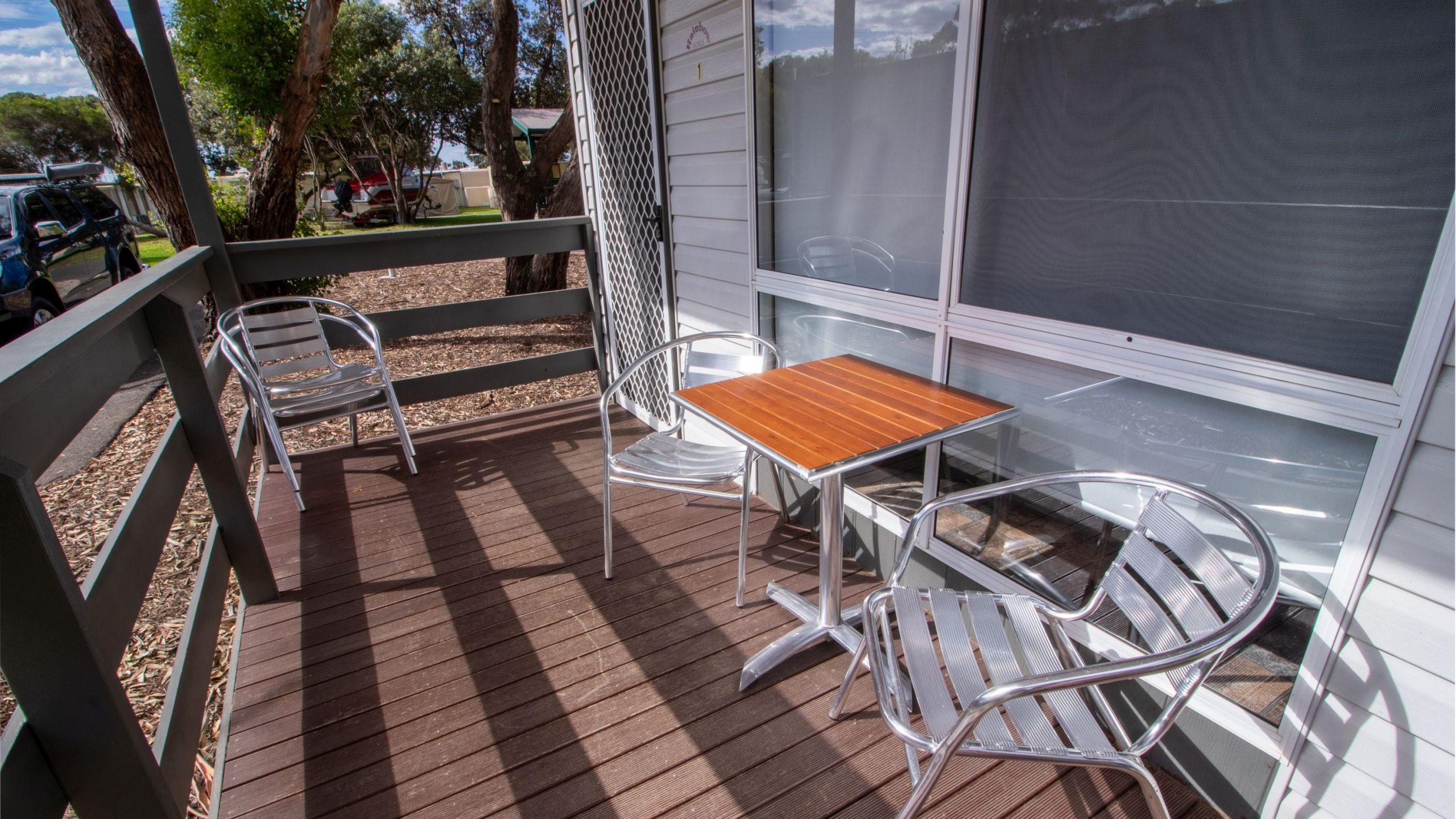 Standard Cabin deck